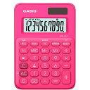 楽天ビックで買える「カシオ CASIO カラフル電卓(10桁) MW-C8C-RD-N ビビッドピンク[MWC8CRDN]」の画像です。価格は540円になります。