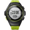 エプソン EPSON GPSランニングウオッチ 「WristableGPS」 Q-10G グリーン[Q10G]