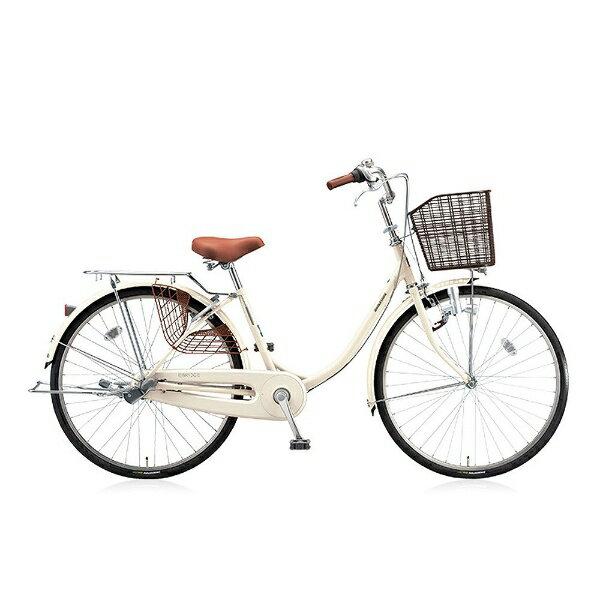 ブリヂストン 24型 自転車 エブリッジU(E.Xクリームアイボリー/シングル) EB40U【2017年モデル】【組立商品につき返品不可】 【代金引換配送不可】:ビックカメラ