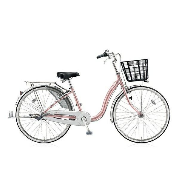 ブリヂストン 26型 自転車 カルク デラックス(M.Xプレシャスローズ/3段変速) C63TP【2017年/点灯虫モデル】【組立商品につき返品不可】 【代金引換配送不可】:ビックカメラ