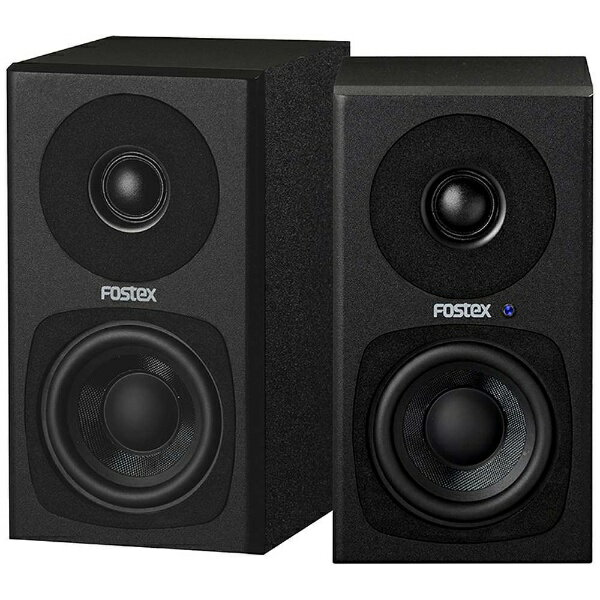 FOSTEX アクティブスピーカー(ペア/ブラック) PM0.3H(B)
