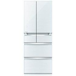 【2017年08月下旬発売】【標準設置費込み】三菱6ドア冷蔵庫(470L)MR-WX47LC-Wクリスタルホワイト「置けるスマート大容量WXシリーズ」