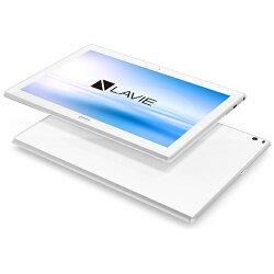 【2017年08月03日発売】【送料無料】NECAndroid7.1タブレット[10.1型・APQ8053・ストレージ16GB・メモリ3GB]LAVIETabETE510/HAWホワイトPC-TE510HAW(2017年8月モデル)