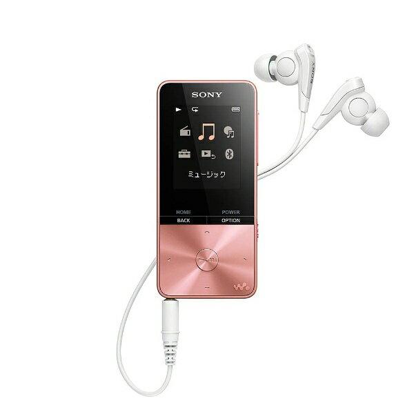 ポータブルオーディオプレーヤー, デジタルオーディオプレーヤー  SONY WALKMAN S NW-S313 4GB NWS313PIC