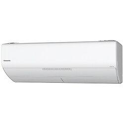 【2017年10月下旬発売】【標準工事費込!】パナソニックエアコン(冷房時おもに26畳)「エオリアXシリーズ」CS-X808C2-W