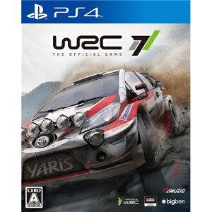 【2017年11月16日発売】 【送料無料】 インターグロー WRC7【PS4ゲームソフト】