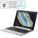 【送料無料】 ASUS エイスース C101PA-OP1 ノートパソコン Chromebook Flip シルバー [10.1型 /eMMC:16GB /メモリ:4GB /2017年10月モデル][C101PAOP1]