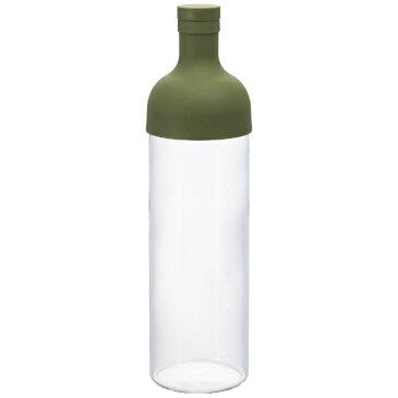 ハリオ フィルターインボトル FIB-75-OG オリーブグリーン