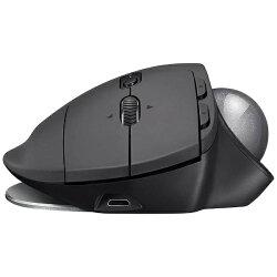 【送料無料】ロジクールワイヤレストラックボールマウス[Bluetooth/2.4GHz・USB・Mac/Win]MXERGO(8ボタン・ブラック)MXTB1s[MXTB1S]