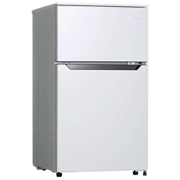 ハイセンスHisense冷蔵庫ホワイトHR-B95A-W 2ドア/右開きタイプ/93L  冷蔵庫小型HRB95A_W  zero