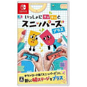 【2017年11月10日発売】 任天堂 いっしょにチョキッと スニッパーズ プラス【Switc…