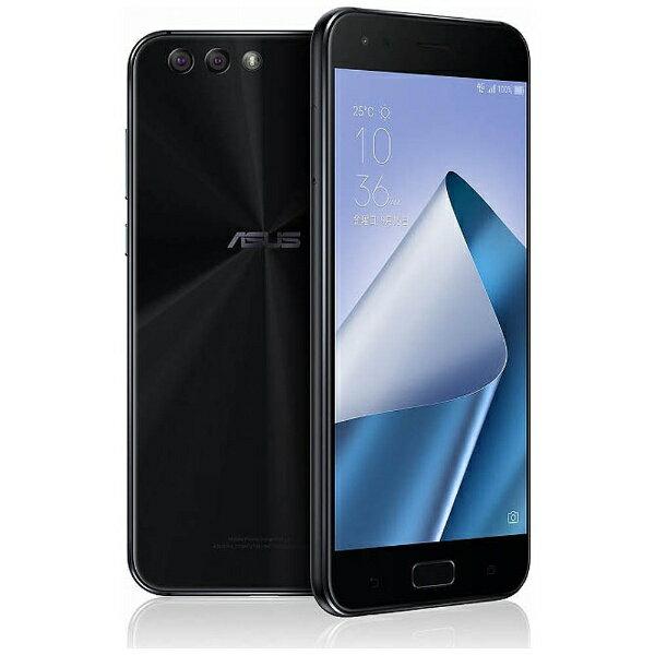 【送料無料】 ASUS ZenFone 4(ZE554KL)ミッドナイトブラック「ZE554KL-BK64S6」 Snapdragon 66...