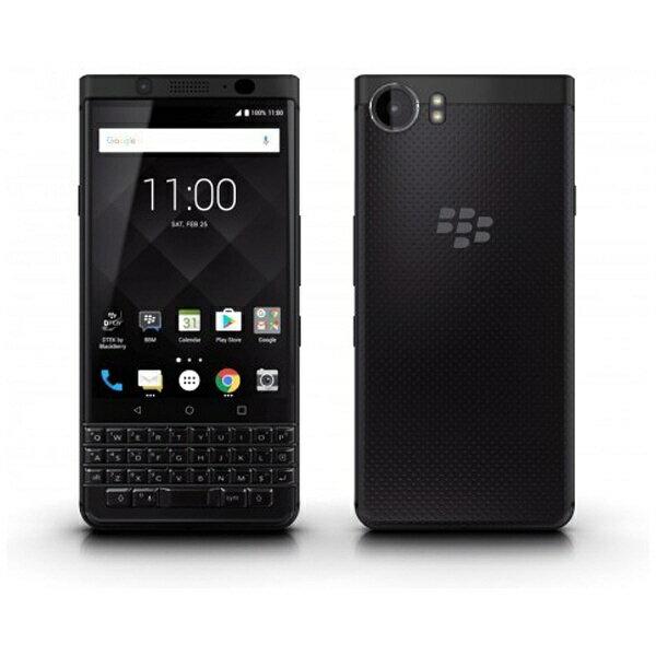 【送料無料】 ブラックベリー KEYone BlackEdition 「PRD-63763-002」 Android 7.1.1 4.5型 メモリ/ストレージ:4GB/64GB nanoSIM×1 SIMフリースマートフォン