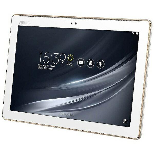 【送料無料】 ASUS Androidタブレット[10.1型ワイド・ストレージ 16GB] ASUS ZenPad 10 Z301M-WH16 (2017年秋モデル・クラシックホワイト)
