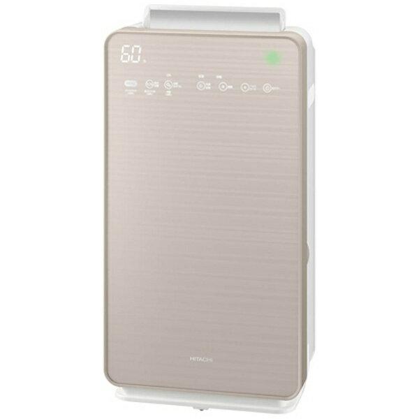 日立 HITACHI EPNVG90-N 加湿空気清浄機 自動おそうじ クリエア シャンパンゴールド [適用畳数:42畳 /最大適用畳数(加湿):22畳 /PM2.5対応][加湿器 空気清浄機 EPNVG90]