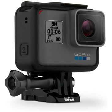 【送料無料】 GOPRO 【10%OFFクーポン 8/4 18:00 〜 8/5 23:59】マイクロSD対応 4Kムービー ウェアラブルカメラ GoPro(ゴープロ) HERO6 Black ブラックエディション CHDHX-601-FW[CHDHX601FW]