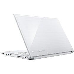 【2017年10月20日発売】【送料無料】東芝15.6型ノートPC[Office付き・Win10Home・Celeron・HDD1TB・メモリ4GB]dynabookT45/EWリュクスホワイトPT45EWP-SJA(2017年秋冬モデル)