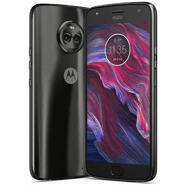【送料無料】 モトローラ Moto X4 スーパーブラック 「PA8T0015JP」 Android 7.1.1・5.2型・メモリ/ストレージ:4GB/64GB nanoSIMx2 SIMフリースマートフォン
