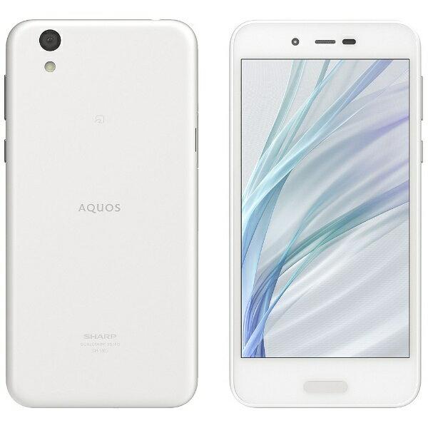【送料無料】 シャープ AQUOS sense lite SH-M05 ホワイト 「SH-M05-W」 Android 7.1・5.0型・メモリ/ストレージ:3GB/32GB nanoSIMx1 SIMフリースマートフォン