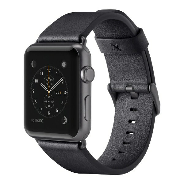 【】 BELKIN F8W731btC00 Classic Leather Band for Apple Watch 38mm F8W731BTC00 ブラック F8W731BTC00[F8W731BTC00]