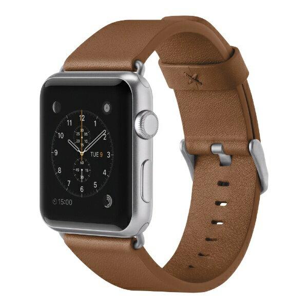 【】 BELKIN F8W732btC01 Classic Leather Band for Apple Watch 42mm F8W732BTC01 ブラウン F8W732BTC01[F8W732BTC01]