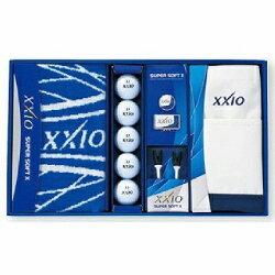 ダンロップ(ゼクシオ)ゴルフギフトセットゼクシオSUPERSOFTXボールギフトGGF-F5045