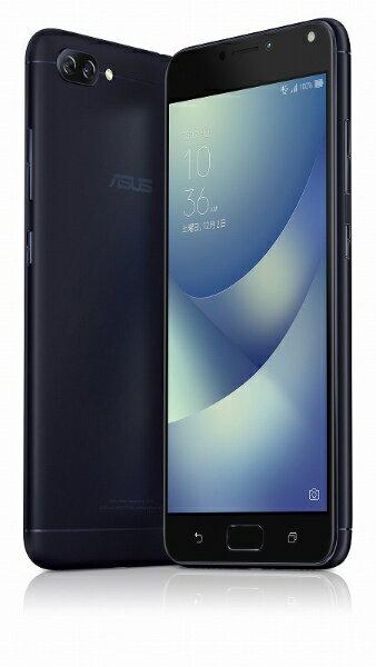 【送料無料】 ASUS Zenfone 4 Max Proネイビーブラック「ZC554KL−BK32S4BKS」Snapdragon 430 5....
