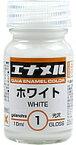 ガイアノーツ ガイアエナメルカラーシリーズ GE-01 ホワイト