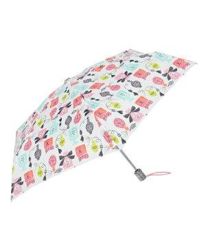 TOTES 【折りたたみ傘】トーツミニ自動 50センチ パフューム 8364