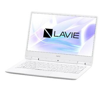 【送料無料】 NEC LAVIE Note Mobile 12.5型ノートPC[Office付き・Win10 Home・Celeron・SSD 128GB・メモリ 4GB]2018年春モデル PC-NM150KAW パールホワイト