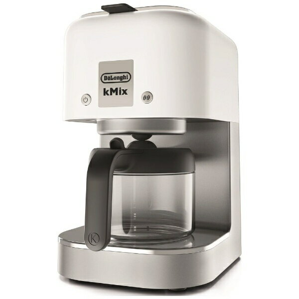 デロンギ Delonghi ドリップコーヒーメーカー ケーミックス クールホワイト COX750J-WH[COX750JWH]
