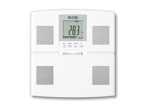 タニタ TANITA タニタ 体重体組成計 健康管理 お手軽 ダイエット 日本製 ホワイト BC-765[体重計 体脂肪計 BC765WH]