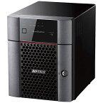 【送料無料】 BUFFALO テラステーション 小規模オフィス・SOHO向け4ドライブNAS HDD 8TB TS3410DN0804