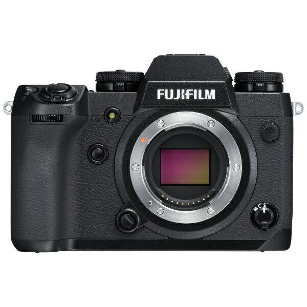 デジタル一眼レフカメラ「FUJIFILM X-H1」