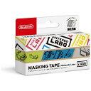 任天堂販売 マスキングテープ Nintendo Labo(ステンシルロ...
