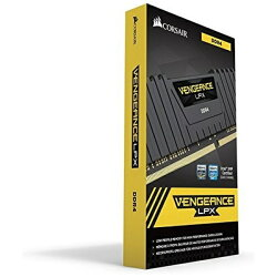 【送料無料】CORSAIR(コルセア)増設メモリLPX64GB(4x16GB)DDR4DRAM2666MHzC16MemoryKit-BlackCMK64GX4M4A2666C16[DIMMDDR4/16GB/4枚]