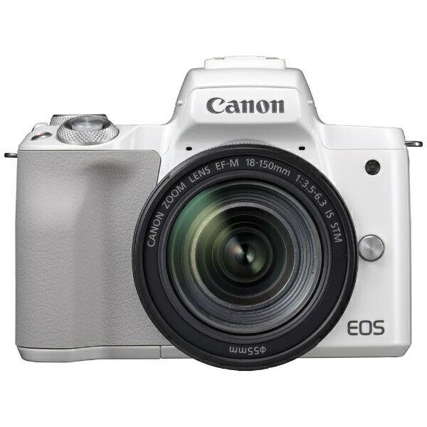 デジタルカメラ, ミラーレス一眼カメラ  CANON EOS Kiss M EF-M18-150 IS STM EOSKISSMWH18150ISSTM