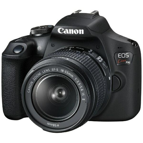 キヤノンCANONEOSKissX90Wデジタル一眼レフカメラEF-S18-55ISIIレンズキット ズームレンズ  EOSKI