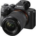 ソニー SONY α7III【レンズキット】ILCE-7M3K/ミラーレス一眼カメラ[ILCE7M3K]
