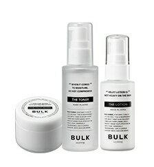 BULKHOMME THE STARTER KIT 洗顔料(25g)・化粧水(50ml)・乳液(25g)[スターターキット]