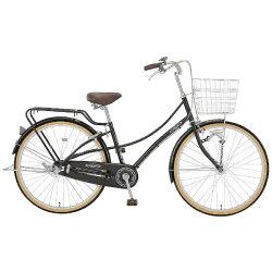 【2017年12月20日発売】【送料無料】アサヒサイクル27型自転車カシュクール27HD(ダークブラウン/シングルシフト)TLEB7S【2018年モデル】[27インチ/変速なし]【配送】
