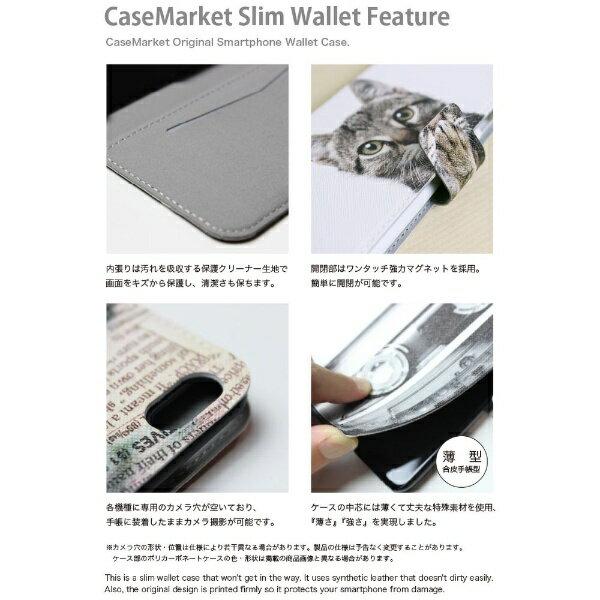 CaseMarket CaseMarket iPod-touch6 スリム手帳型ケース レディー ヌード アメリカン ロックンロール ハード 宇宙柄 iPod-touch6-BCM2S2315-78