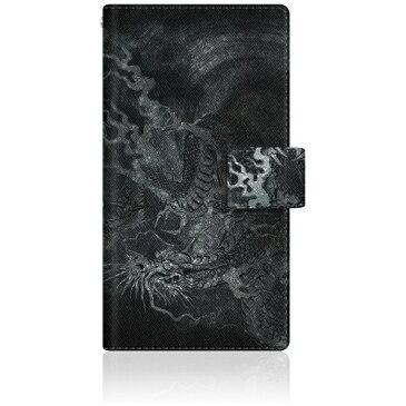 CaseMarket CaseMarket 502SH スリム手帳型ケース 龍の咆哮 - 黒 ダイアリー 502SH-BCM2S2160-78 【メーカー直送・代金引換不可・時間指定・返品不可】