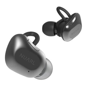 【送料無料】 NUARL フルワイヤレスイヤホン NUARL NT01-BS ブラックシルバー [マイク対応 /左右分離タイプ /Bluetooth]