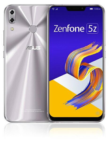 ASUS エイスース Zenfone 5Z Series スペースシルバー ZS620KL-SL128S6 Snapdragon 845 6.2型...