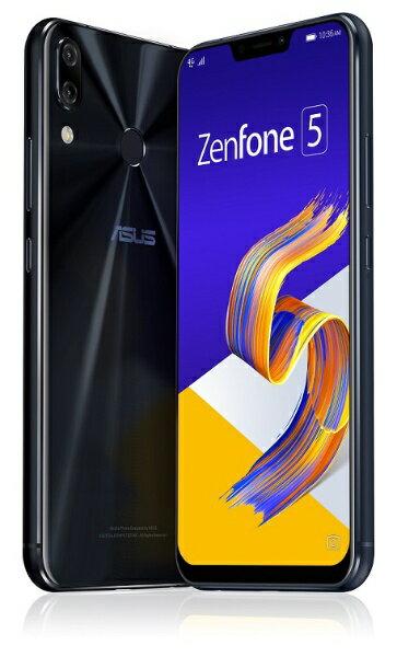 【送料無料】 ASUS エイスース Zenfone 5 Series シャイニーブラック ZE620KL-BK64S6 Snapdrag...