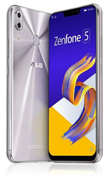 ASUS エイスース Zenfone 5 Series スペースシルバー ZE620KL-SL64S6 Snapdragon 636 6.2型ワ...