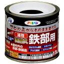アサヒペン 油性高耐久鉄部用 1/5L (ツヤ消し黒)