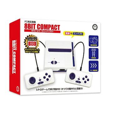 コロンバスサークル 8ビットコンパクト(FC用互換機) CC-8BCPF-WT[ゲーム機本体]
