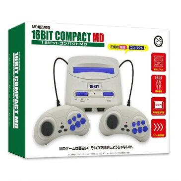 コロンバスサークル 16ビットコンパクトMD(MD互換機) CC-16CPM-BK[ゲーム機本体]